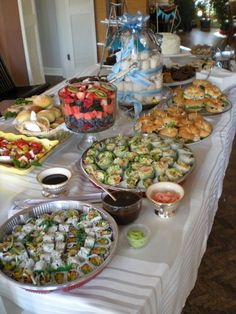 baby shower food | Inspiration and Rough Drafts: Baby Shower: Celebrating the Upcoming ...