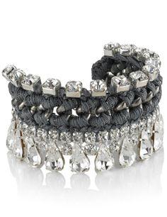 Dove Grey Twinkle Bracelet   Venessa Arizaga   Avenue32
