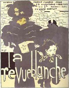 mrsdentonorahippo:  Pierre Bonnard. Poster for La Revue blanche, colored lithography. 1894.