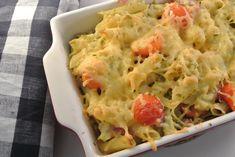 Pasta ovenschotel met bloemkool en pesto