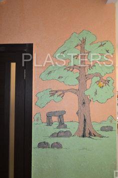 Декоративная штукатурка в ремонте прихожей, Анна, г. Москва - Silk Plaster — официальный сайт производителя #жидкиеобои