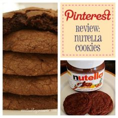 Pinterest Review: Nutella Cookies