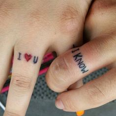I Know. - Forget Rings - These Wedding Tattoos Are Way Cooler - Photos