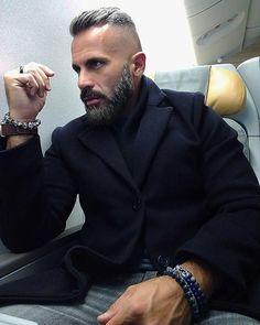 Beard Styles For Men, Hair And Beard Styles, Short Hair Cuts, Short Hair Styles, Boys Underwear, Beard Grooming, Awesome Beards, Beard Balm, Man Men