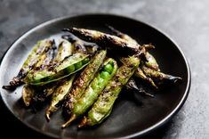 Grilled English Peas  Vegetarian Grilling