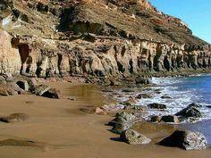 Playa de Tirita ña. Mogan.las Palmas de Gran Canaria.