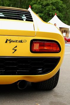 Lamborghini Miura | 2 Door Coupe | 4.0L V12 Engine | Lamborghini's flagship sports car, a total of 764 were produced between 1966 - 1973 | Versions included the P400, P400S, P400SV, 5 P400 SV/J, 1...
