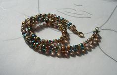 Glasketten - Glasperlen Collier Clea - ein Designerstück von sibea bei DaWanda