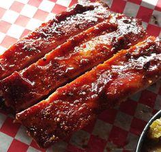 Pork spareribs at @pappacharliesbbq. The stuff dreams are made of. #BBQ #HouBBQ #EaDo #TexasBBQ #Pitmaker #igtexas #bbqbeast #manmeatbbq #igfood #ribs #downtownhouston #localgrubhou #bbqlife #myfab5 #bestfoodtexas #houstonhotspots #houstontxfood #foodbeast #slgt