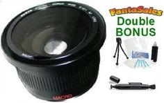 UltraPro HD Super Wide Angle Panoramic Macro Fisheye Lens for Select Sony NEX Digital Cameras. Also Includes: Mini Tripod, Lens Pen Cleaner, Cleaning Kit Nikon Digital Camera, Digital Slr, Slr Camera, Digital Cameras, Canon Digital, Nikon D3100, Sony A6000, Iphone 6, Rebel