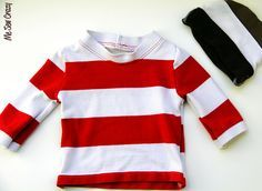 Fabulous tutorial how to use a polo shirt collar in making your new shirt.