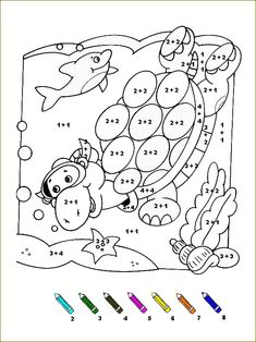 Simple Math, Basic Math, Math Addition, Addition And Subtraction, Preschool Assessment, 1st Grade Math Worksheets, Fall Coloring Pages, Math Facts, Math For Kids
