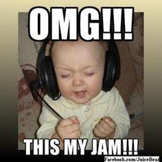 OMG this is totally me listening to Gerardo Ortiz <3 baby is so cuteeee