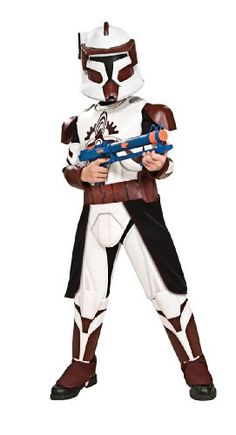 Star Wars Clone Wars Clone Trooper Childs Deluxe Commander Fox Costume Small -- Want to know more, click on the image.Note:It is affiliate link to Amazon.