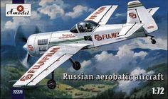 AModel AMO 72271 Sukhoi SU-31 Russian Aerobatick Aircraft 1/72