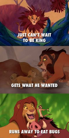 Simba | 11 Disney Characters Who Were Secretly Just The Worst