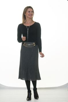 Alpaca Skirt  #Grey #Black #Camel #Alpaca