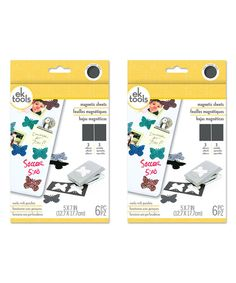 Look at this Magnetic Six-Sheet Pack - Set of Two on #zulily today!