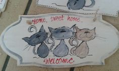Hand painted funny wooden signs by BulbaDesign on Etsy
