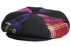638e41b6234c3 Made in USA 100% Linen Ivy Scally Summer Golf Hat Flat Cap - Blue Plaid -  CK11K5ZDXO7 in 2018 | MEN'S HATS & CAPS | Cap, Hats, Flat cap