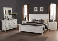 Discover the best coastal bedroom furniture sets, which includes matching coastal beds, beach dressers, coastal headboards, beach nightstands, and more. Full Size Bedroom Sets, 5 Piece Bedroom Set, King Bedroom Sets, Queen Bedroom, Queen Headboard, King Size Bedroom Furniture, Furniture Styles, Entry Furniture, Furniture Ideas