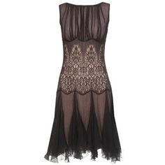 Silk Chiffon Detailed Dress