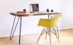 Rustieke houten tafel walnoten tafel, Live rand Slab, portiek tabel, Slab koffietafel, geregenereerde meubilair, moderne meubels, Mid Century tabel door OurHood op Etsy https://www.etsy.com/nl/listing/470239601/rustieke-houten-tafel-walnoten-tafel