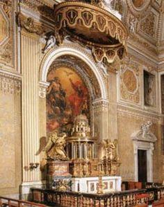 St. Peter's - Blessed Sacrament Chapel Tabernacle (1674) by Gian Lorenzo Bernini http://stpetersbasilica.info/Altars/BlSacrament/BlSacrament.htm