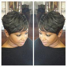 Hair by Tanya  #shorthair #nolahairstyles #modernsalon #friendssalonnola #neworleanssalon #nolahairstylist #nolastylist #nola #followyournola