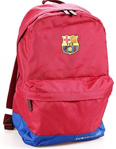 FC BARCELONA OUTDOOR BACKPACK SCHOOL BOOK BAG FCB-BP001 - Click image twice for more info - See a larger selection of boys teens backpacks - kids, boys, little boys, school supplies, kids fashion , teenager, bags.