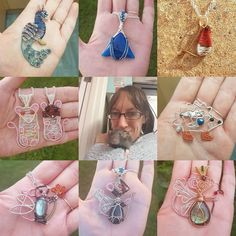 #artvsartist Here's my collage @branchbeads aka the manager of Conscious Crafties Instagram account. I love wirework!! 😍😍😍… Wire Work, Instagram Accounts, Consciousness, Lush, Collage, My Love, Artist, Jewelry, My Boo