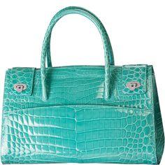 Crocodile Leather Droplet Handbag - KWANPEN