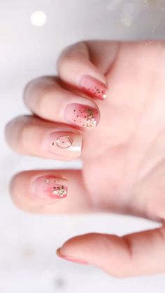 Trying to find new and colorful nail art designs can be a struggle. Trying to th… - Nagellack Nail Art Designs Videos, Fall Nail Art Designs, Pink Nail Designs, Nail Art Videos, Glitter Nail Art, Gel Nail Art, Nail Art Diy, Nail Polish, Korean Nail Art