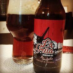 Done with @CervezasLaGrua core range of beers. Greatly impressed!