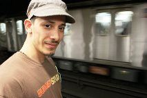 Salvata dalla metropolitana - New York - 10 Maggio 2014