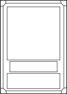 Printable trading card template click here trading card for Card game template maker