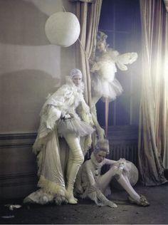 Vogue Italia March 2010 - Lady Grey - Charles Guislain @ StreetStylista.Guy