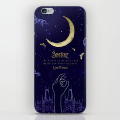 Sathaz Impossible Dreams Phone Skin ~ $15 ~ Strange the Dreamer Gifts!