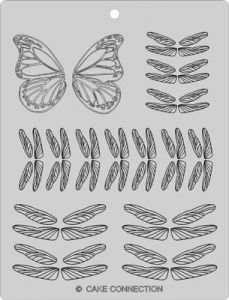Butterfly & Dragonfly Wing Veining Sheet
