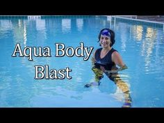 USA Aqua Expert, Stephanie Thielen shares a complete aqua fitness workout that trains the the entire body in just 10 exercises. Swimming Pool Exercises, Pool Workout, Aqua, Water Aerobics Routine, Water Aerobics Workout, Cardio Routine, Pilates Studio, Workout Accessories, No Equipment Workout