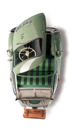 BMW 1956 BMW Isetta 'Bubble Window' Cabrio