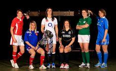 Six Nations Women's Captains: Wales, France, England, Scotland, Ireland, Italy