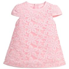 Mayoral Baby Girls Pink Organza Dress with Bloomers at Childrensalon.com