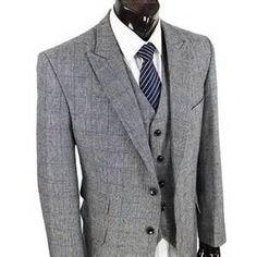 overcheck suit jacket