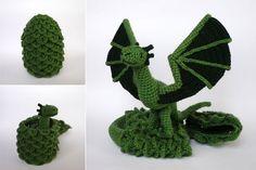 Hatching dragon by LunasCrafts.deviantart.com on @deviantART