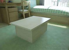 収納付カラーボックステーブルの作り方をご紹介。 今回は天板が稼働して収納スペースが出現するテーブルを考えてみました。 持ち運ぶときはちょっと不便ですが、テーブルに収納があると便利なので。 それでは作り方をご紹介していきま …