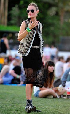 El estilo de las musas del Festival de Coachella - Foto 14