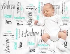 Personalized baby blankets- Swaddle blankets BP006