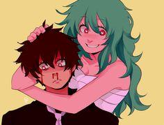 Kaneki and Eto | Source: http://karinuzumaki.tumblr.com/post/143752064483/yanderechild-lets-fall-in-love