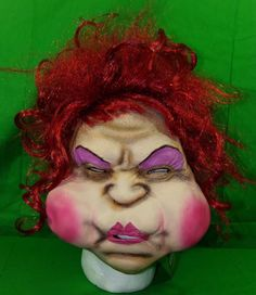 2008 Seasonal Visions International Mrs Plugged Up Halloween Mask New with Tags Scary Halloween Costumes, Halloween Masks, Cool Items, St Kitts, Grenada, Trinidad And Tobago, Seasons, Tags, Ebay